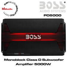 Boss Audio PD5000-Monobloc Classe D Amplificateur Phantom 5000 W Bass Amplificateur Amp