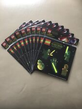 Lego Star Wars Glow In The Dark Stickers 10 Packs of 6 Stickers LOW POSTAGE