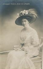 POSTCARD    ROYALTY    GERMANY  Princess  Victoria  Luise