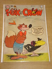 FOX AND THE CROW #52 G/VG (3.0) DC COMICS OCTOBER 1958 < **