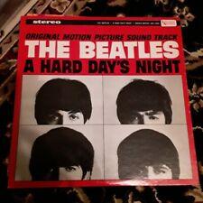 "Beatles A Hard Days Night UA Orange Purple Label Stereo LP ""Rare"""