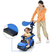 Toddler Kids Ride Toy Tricycle Bike Baby Child Stroller Car w/ Canopy Push Bar