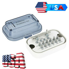 US Dental Implant Torque Wrench Ratchet 10-70NCM with Drivers & Wrench Set