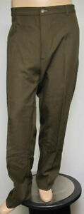 ORVIS Men's Olive Green Wool Canvas MP Pant 46 x 30 NWT