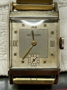 Vintage 1940's LeCoultre Tank Watch