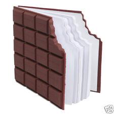 Novedad 100 Hoja Yummy Perfumado chocolate forma portátil Memo Pad Bonito Regalo