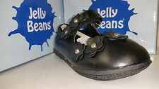 Jelly Beans Nami Toddler Girl's Shoes Black / Black PT Flowers Size 4-8