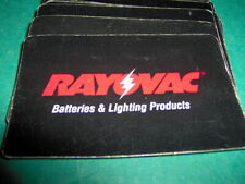 Rayovac Batteries & Lighting Products Playing Cards Deck Advertising Battery