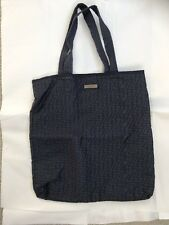 Zella Fitness Tote/ Bag - Large Size - Quilted Blue Nylon