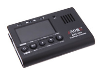 Aroma AMT-560 Electric Guitar Tuner & Metronome Built-in Mic with Pickup Cable 6
