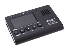 More details for aroma amt-560 electric guitar tuner & metronome built-in mic with pickup cable 6