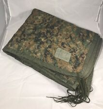 New Poncho Liner Woobie Blanket MARPAT Woodland Camouflage New Military Issue