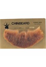 Full Chin Beard LIGHT BROWN - 100% Human Hair - no. 2023 - BRAND NEW