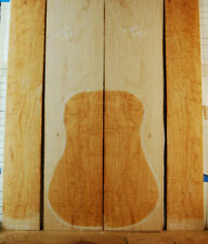 gorgeous curly hard maple tonewood guitar luthier set back and sides old-1977