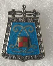 ABC Cavalerie Hussards 5e Regiment de Hussards en argent