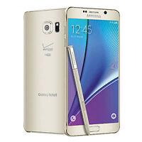 UNLOCKED Samsung Galaxy Note 5 SM-N920V 32GB Gold VERIZON STRAIGHT TALK ETC