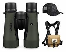 Vortex Diamondback Hd 12x50 mm Binoculars w/ Vortex Harness Case and Vx Hat