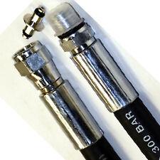 RO1 frusta gomma manometro HP alta pressione HP rubber hose pressure gauge cm 90