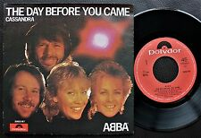 ABBA SINGLE MADE IN PORTUGAL 45 PS 7 *THE DAY BEFORE YOU CAME*