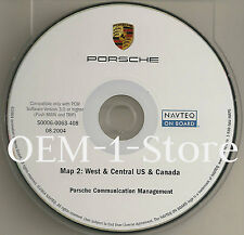 03 2004 PORSCHE CAYENNE S SPORT NAVIGATION CD WEST CENTRAL CA AZ TX IA CO CANADA