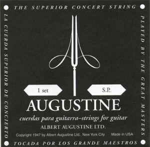AUGUSTINE Classic Black Soft Tension E1-E6 Saiten