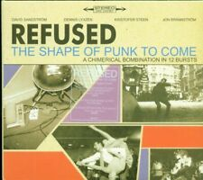 💥Refused - The Shape Of Punk To Come (Burning Heart Records Digipak Cd Perfetto