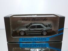 MINICHAMPS MERCEDES BENZ 190E 2.5-16 EVOLUTION - ANTHRACITE 1:43 - EXCELLENT IB