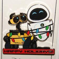 Disney Christmas Holiday 2018 Wall-E and Eve Lights Pin