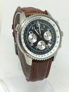 Rotary Gents Classic GS03351/19 Watch Brand New Brown Leather Strap Chronograph