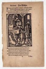 Il Müller-Mulino-Legno Taglio di Jost Amman 1574