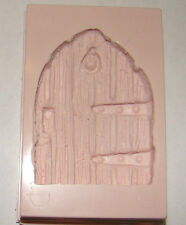 Large silicone fairy door mould magical garden sugarcrat icing fimo resin topper