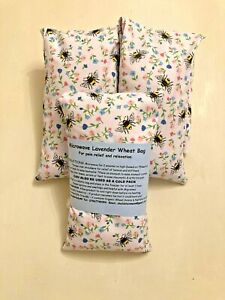 FUN BUMBLE BEES MICROWAVE LAVENDER WHEAT BAGS FOR NECKS & BACKS PAIN RELIEF