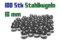 100 Stahlkugeln 10mm für Steinschleuder Zwille Slingshot Pocket shot Munition
