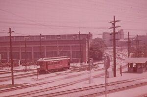 Trolley Slide - Pacific Electric Railway #1422 Streetcar Interurban California