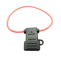 14AWG ATC In-Line Fuse Holder with Weather Proof Cover