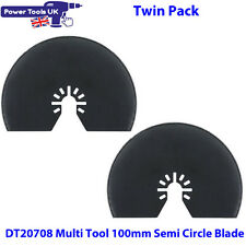 Dewalt Twin Pack DT20708 Multi Tool Cutting Saw Blade 103mm Fits DCS355 DWE315