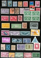 BOB Stock Sheet full of U.S. Back of the Book Stamps