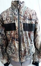 REDHEAD MOSSY OAK DUCK BLIND HUNTING JACKET, ADULT SMALL-REVERSIBLE- AMMO SLOTS
