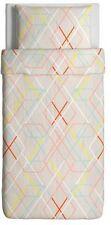 Duvet Comforter Cover 2 piece set Brand New Bedroom Dorm Bedlinen - Multicolor