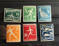 Nederland 1928 Olympiadezegels MNH postfris // VANAF 1 EURO!!