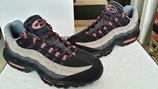 "NIKE AIR MAX '95 PREMIUM ""SAFARI"" BLACK/ASH-COOL GREY 538416-006 MEN'S SIZE 12"
