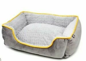 Cozee Paws Home Plush Rectangle Pet Bed SMALL Model 809643