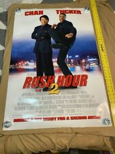 #5 Rush Hour 2 Movie Theater Poster Official 27x40 Double Sided
