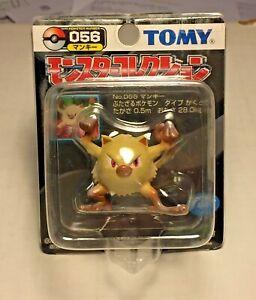 Rare TOMY unopened Mankey Pokemon Figure #056 still sealed never opened READ