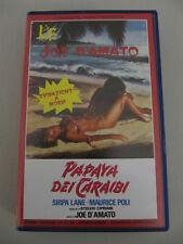 PAPAYA DEI CARAIBI Joe D'Amato (Massaccesi) Sirpa Lane VHS Lamberto Forni UNCUT