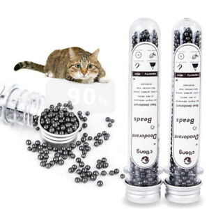 Pet Odor Activated Carbon Cat Litter Absorbs Peculiar smell Deodorizing Clea.bu