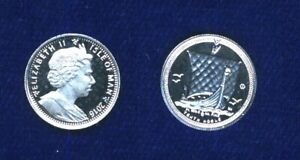 2016 Isle Of Man 1/10 oz .9995 Platinum Noble Round Bullion Proof Coin, Superb