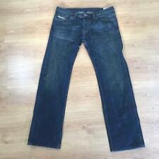 Diesel Viker Distressed Dark Blue Denim Jeans 36 x 32 0071S Regular Straight