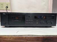 VTG EUC Yamaha KX-150 Natural Sound Stereo Cassette Tape Deck TESTED! WORKS!
