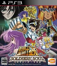 PS3 SAINT SEIYA SOLDIERS 'SOUL SOLDIERS SOUL Japan Game Japanese
